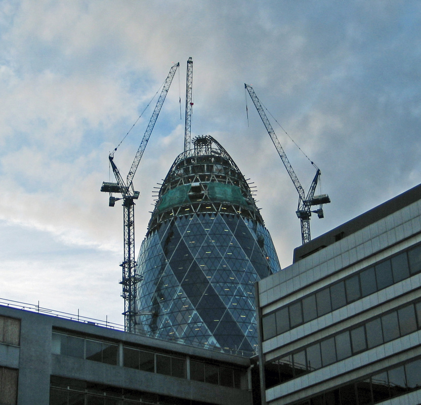on the gherkin city of london feb the gherkin under by gareth williams cc by 20